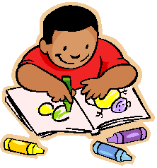 Kids Corner/Boy Coloring in Coloring Book Icon