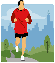 Preventing Diabetes/Jogger Icon